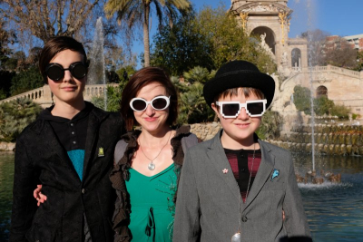 Leo, Heather and Max