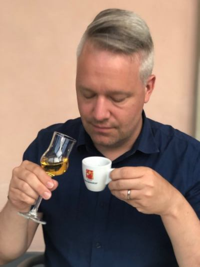 grappa or coffee
