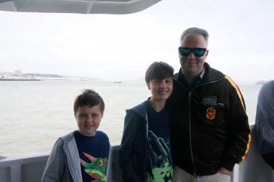 Boat to Alcatraz