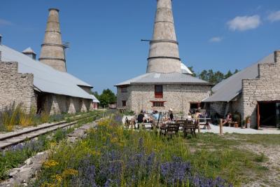 Limestone factory cafe