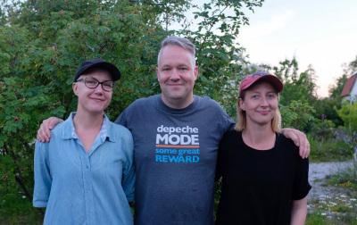 Julia, Måns and Jorun