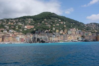 Camogli from the sea