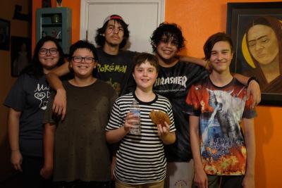 Antonia, Pablo, Danny, Max, Diego, Leo