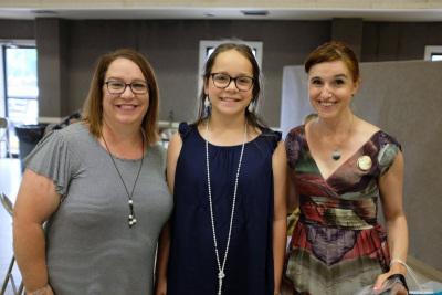Dawn, Emma and Heather